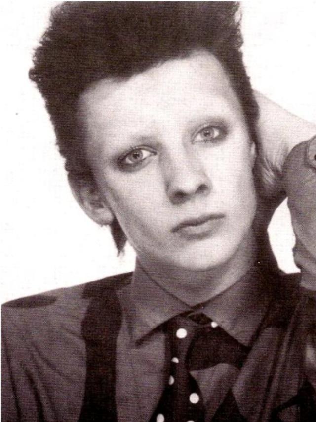 Boy George as David Bowie, ca. 1976