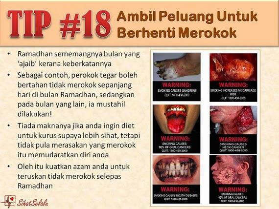 Tips Diet Kuruskan Badan Sepanjang Bulan Puasa (Ramadhan)