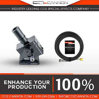 Enhance Your Production 100% and create your own Colorful Plumes of Smoke Special Effects with the CO2 Cannon MINI Jet for sale at www.co2cannon.com