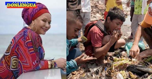 Piedad Córdoba dice que en Venezuela la gente no pasa hambre ni busca comida en la basura