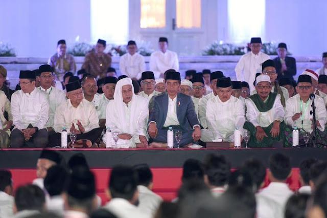 Jokowi: Doa Kebangsaan, Kita Mensyukuri Nikmat Allah