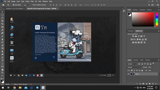 مميزات برنامج Adobe Photoshop CC 2021