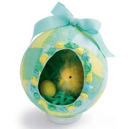 Paper Egg Diorama