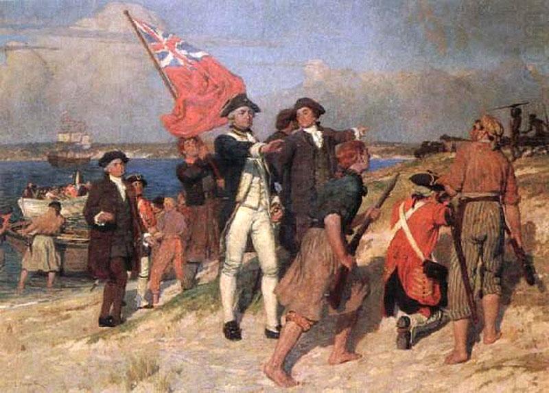 Первые поселецы Австралии