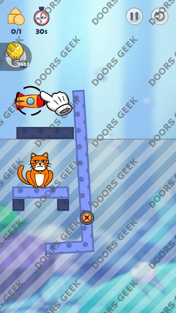 Hello Cats Level 71 Solution, Cheats, Walkthrough 3 Stars for Android and iOS