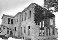 Tivy School under restoration 1984