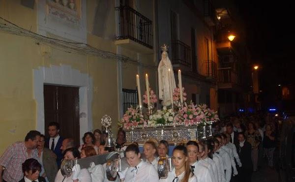 La Hermandad de la Virgen de Fátima de Málaga acuerda trasladar a octubre su procesión del mes de mayo