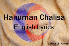 Hanuman Chalisa English Lyrics