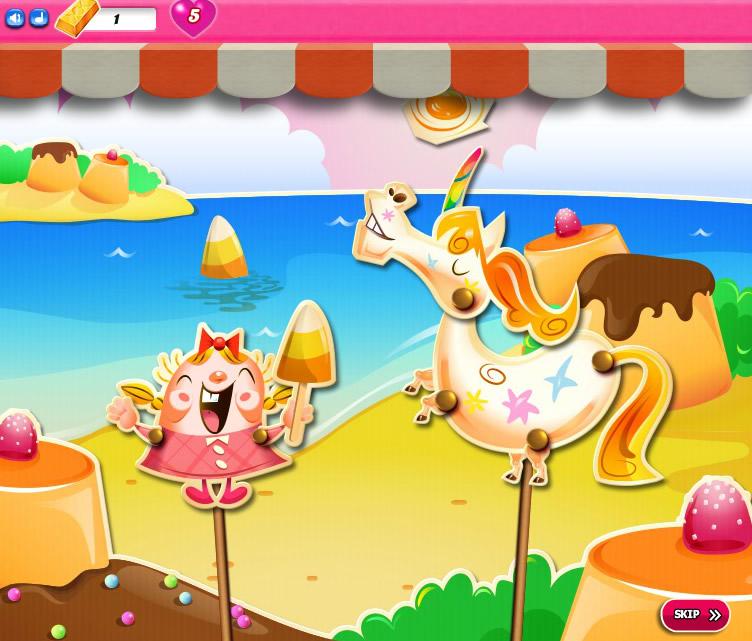 Candy Crush Saga 1956-1970
