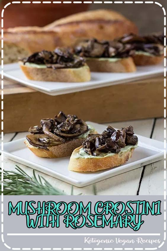 s a local restaurant that used to have a mushroom crostini appetizer on their hidangan MUSHROOM CROSTINI WITH ROSEMARY