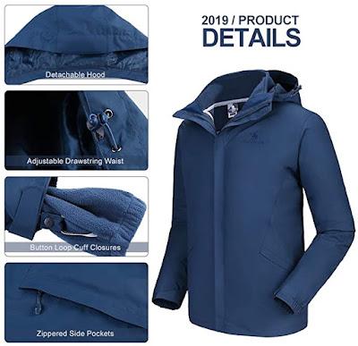 Waterproof Winter Jacket Snow Jacket