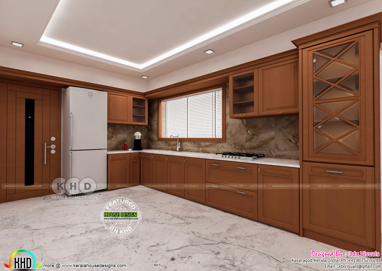 Classical Interior Designs By 3dx Visuals Kerala Home