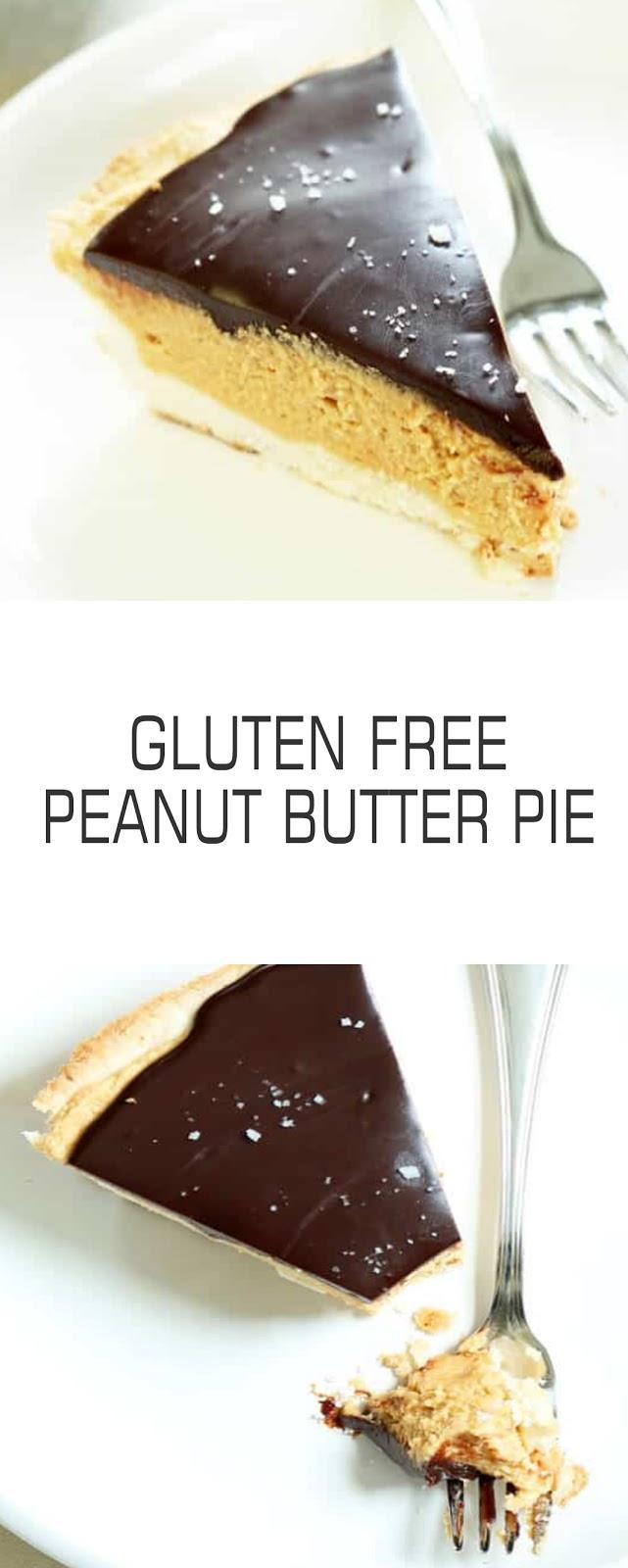 Recipe Gluten Free Peanut Butter Pie #pie #cookies