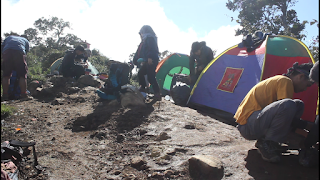 Pendakian Gunung Cikuray via carik