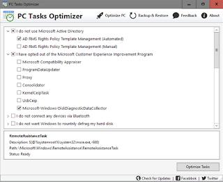 Download PC Tasks Optimizer 1.2.326