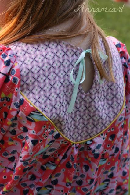 Wanderer Tunic Mädchen Rückenansicht Details