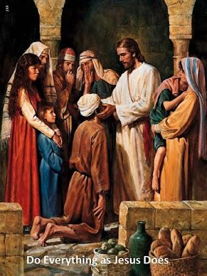 SEPERTI YESUS YANG MELAKUKAN PERBUATAN BAIK