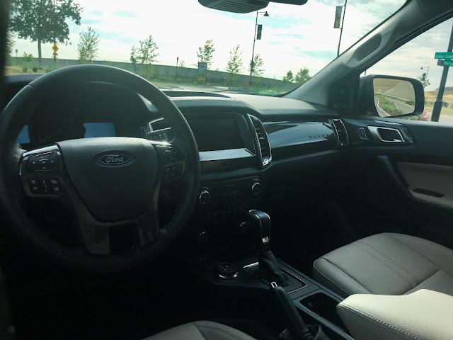 Instrument panel in 2020 Ford Ranger Supercrew 4X4 Lariat