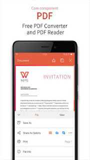 WPS Office Android app