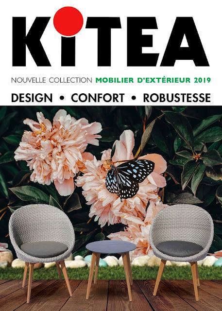 catalogue kitea maroc mobilier exterieur 2019