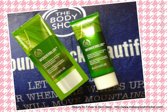 The Body Shop WonderBlur Face Primer  review