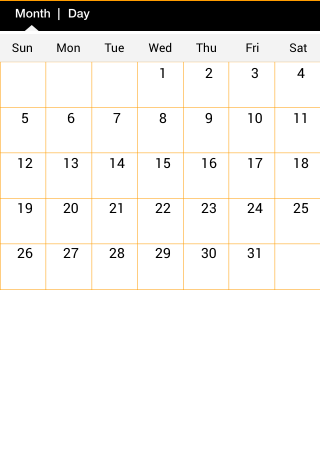 Custom Calendar in IOS SDK