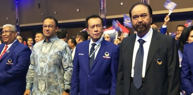 Selain Bikin Gaduh Koalisi, Manuver Nasdem Juga Buat Kecewa Jokowi