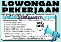 Walk In Interview di PT. Nagata Mitra Perkasa Surabaya Terbaru Juli 2019