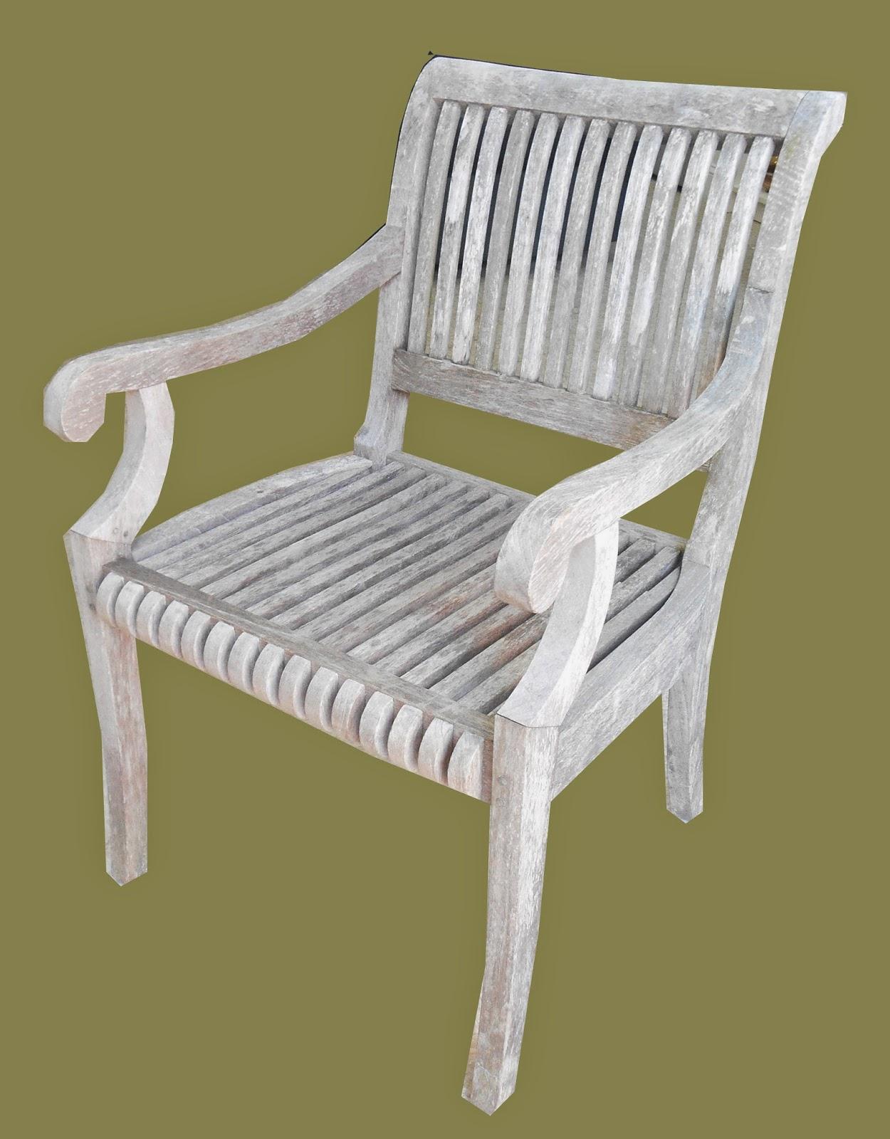 Uhuru Furniture & Collectibles: Weathered Teak Outdoor ...