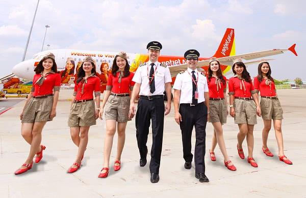 Đồng phục tiếp viên Vietjet Air