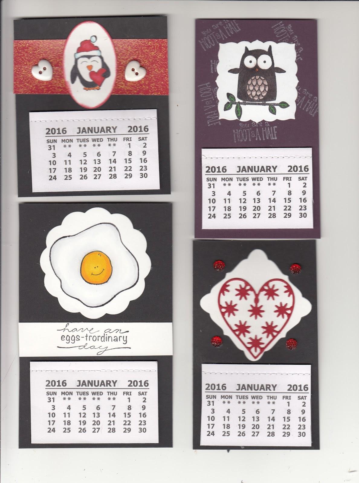 Handmade Calendar Designs : Cool handmade calendars images unique