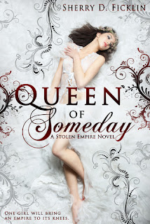 Book cover  Queen of Someday by Sherry D. Ficklin