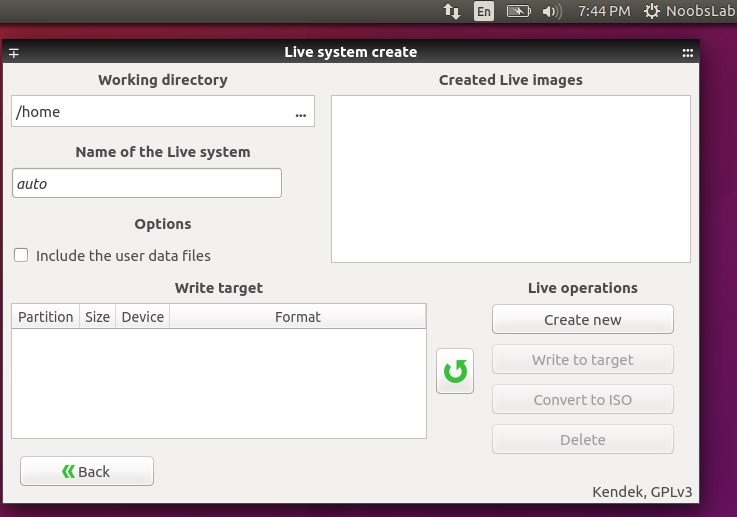 how to take backup in linux command