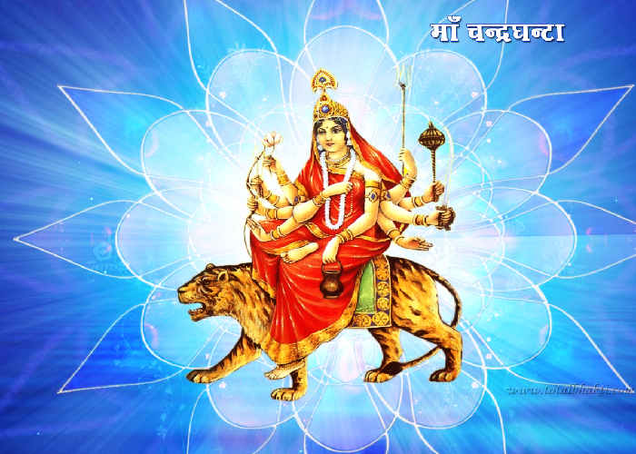 Goddess Chandraghanta Photo - Maa Durga Wallpaper