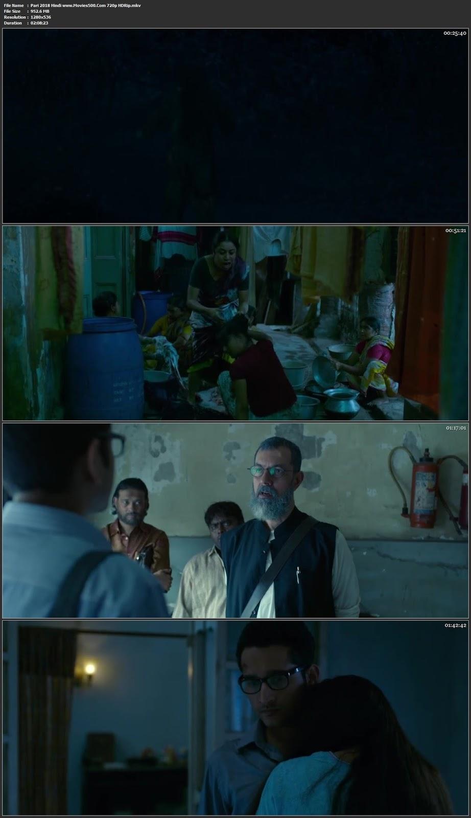 Pari 2018 Hindi Full Movie HDRip 720p 900MB at movies500.site