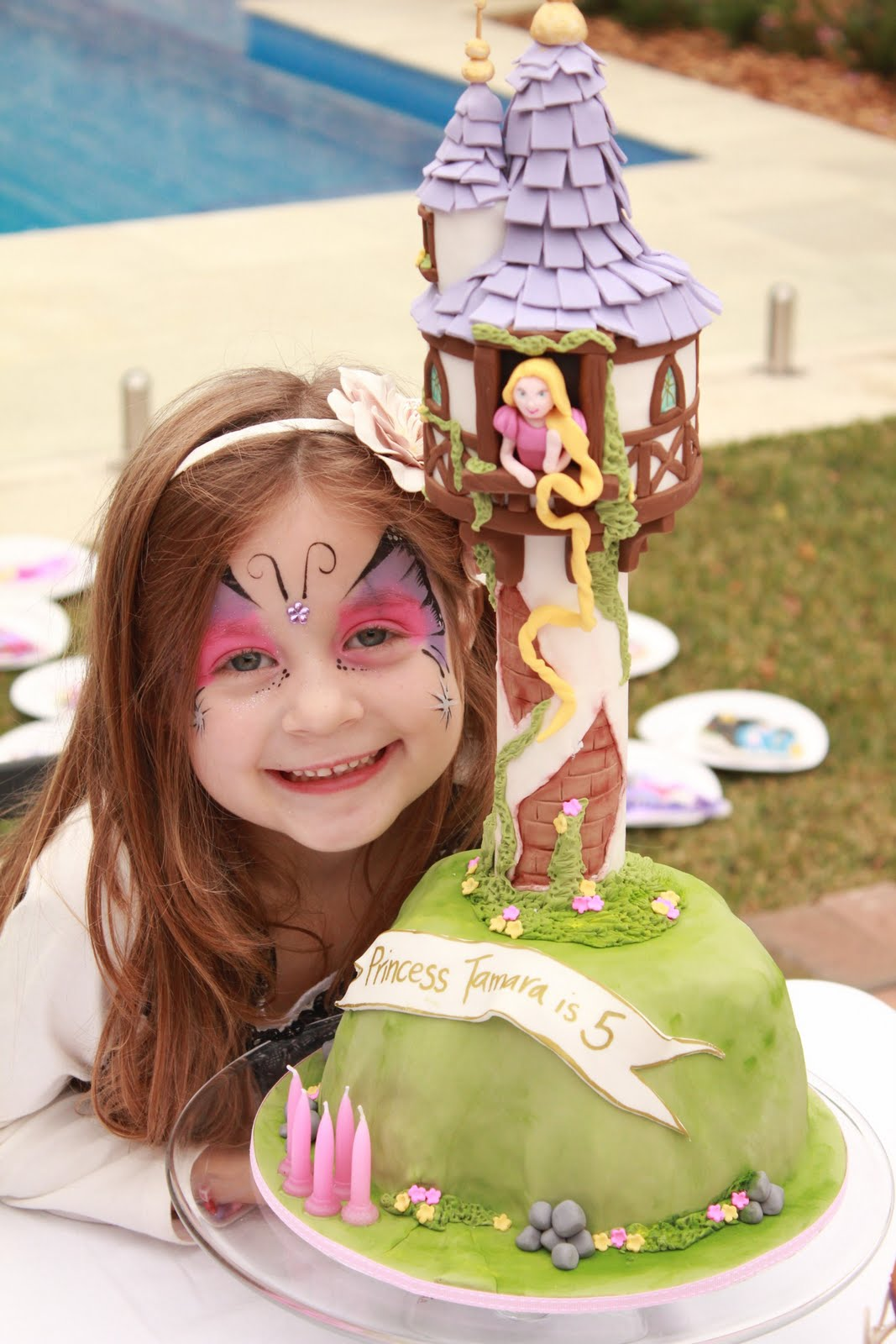 Blissfully Sweet Rapunzel Quot Tangled Quot Birthday Cake