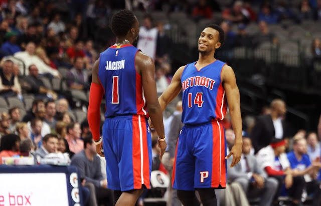 Nouvelle rotation entre Ish Smith et Reggie Jackson   PistonsFR, actualité des Detroit Pistons en France
