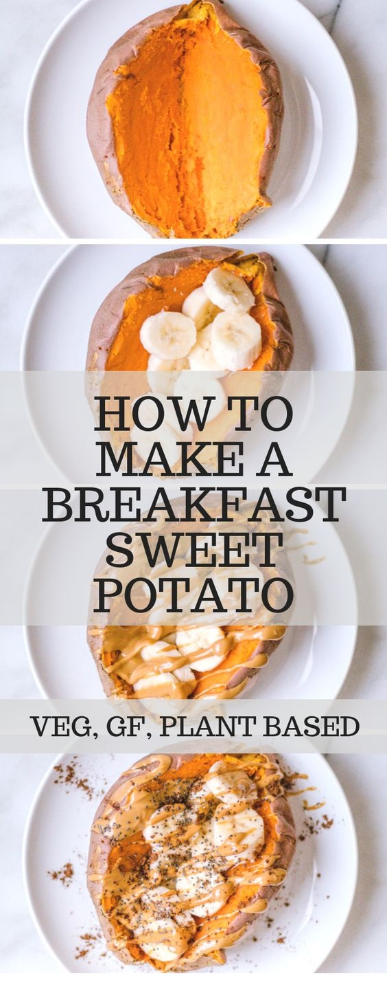 How To Make A Breakfast Sweet Potato