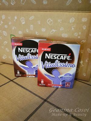 Nescafé Vitalissimo Caja Degustabox - Junio ´16