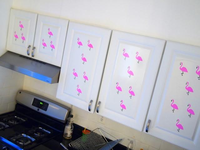 decoração de cozinha com papel contact