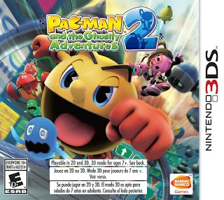 Rom Pac-man And The Ghostly Adventures 2 3DS