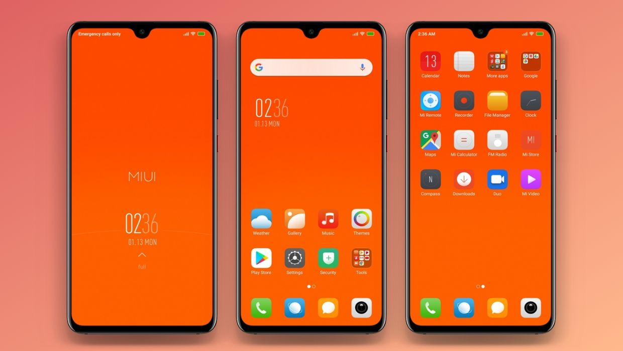 RedMe MIUI 11 Theme
