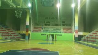 Anuncian iluminación del Palacio de los Deportes
