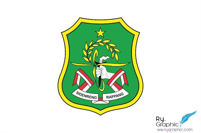Logo Kabupaten Sidrap / Sidenreng Rappang vector cdr ai eps