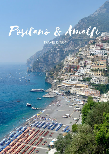 POSITANO AND AMALFI COAST TRAVEL DIARY