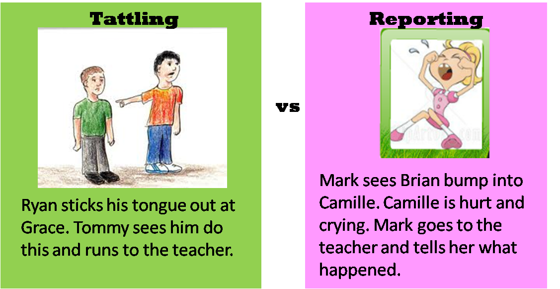 A Teacher S Idea How To Handle Tattling In The Classroom