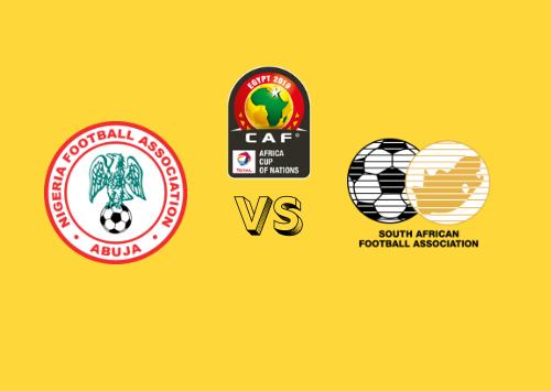 Nigeria vs Sudáfrica  Resumen