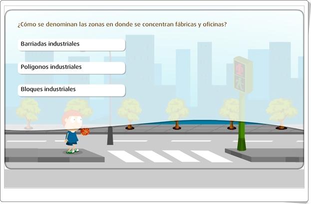 """""""El paisaje urbano"""" (Juego de Ciencias Sociales de Primaria)"""