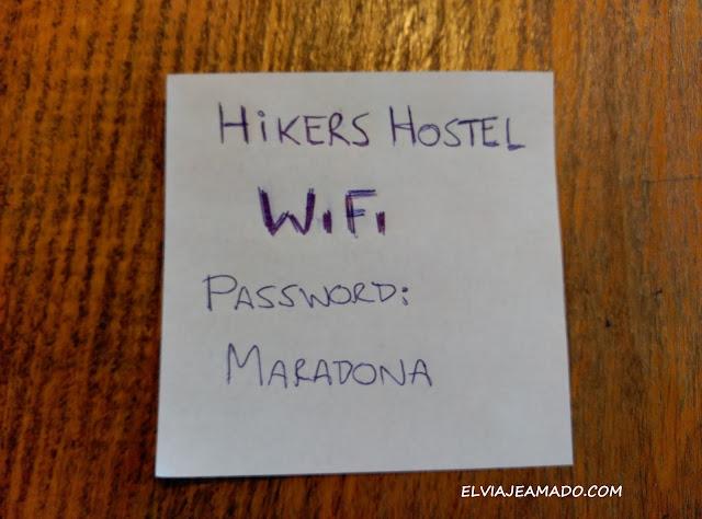 """Contraseña del Wifi: """"Maradona"""""""