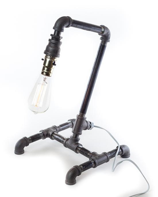 Desain Lampu Duduk Dari Pipa Besi Bekas Part 2